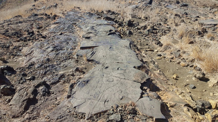 geroglifici aborigeni el hierro